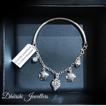Silver Latest Bracelet