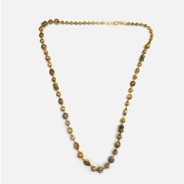 22KT Gold Antique Mala RHJ-4896
