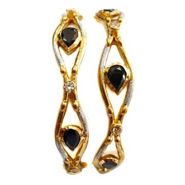916 black stone designer Kadli Bangles MGA - GK044