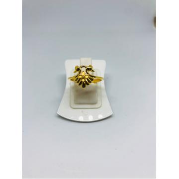 916 Gold Peacock Design Ring For Women KDJ-R015 by