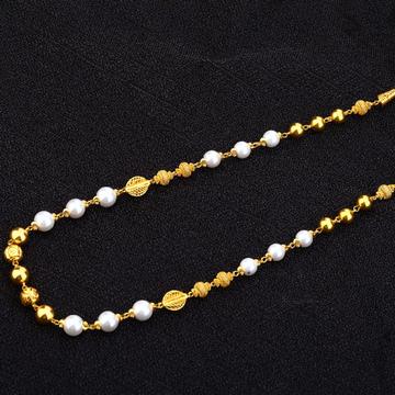 916 Gold classic Moti Mala AC163