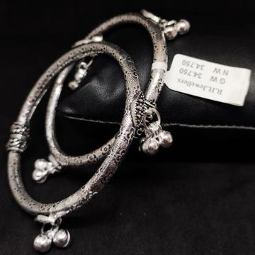 silver antiq baccha kada RH-BK604