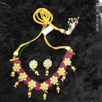 Beautiful Chattai Necklace Set#843
