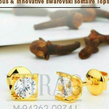 18kt fancy solitar stone tops stg -0085