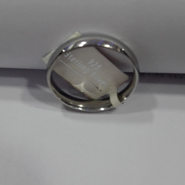 92.5 silver plain ring by
