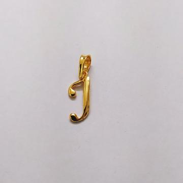 Plain casting letter pendant
