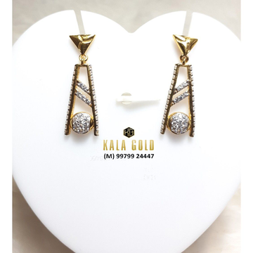 916 Earrings Fancy Design With Latkan