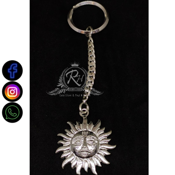 silver sun keychgain RH-SK352