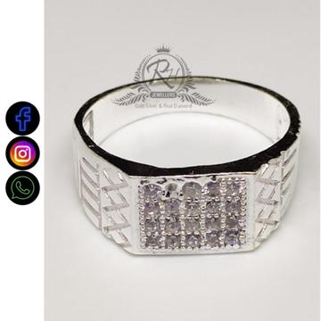silver gents rings RH-GR405