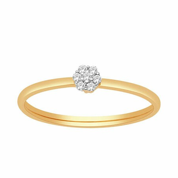 18k gold real diamond ring mga - rdr0019