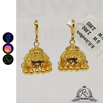 22 carat gold party and engagement ladies jumar RH-EJ579
