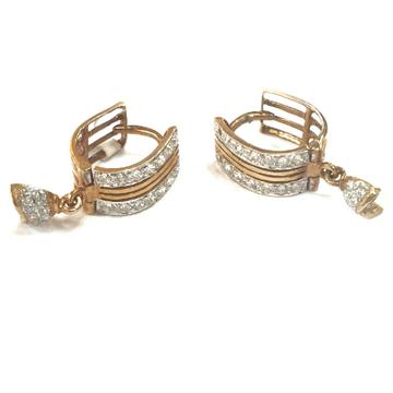 18K Rose Gold Earrings MGA - GB003