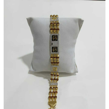 916 Gents Fancy Gold Rudraksh Lucky G-10155