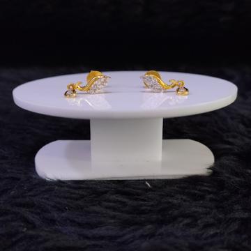 22KT/916 Yellow Gold Christen Earrings For Women