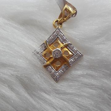 fancy  diamond pendle by