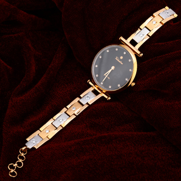 Rose Gold Ladies Diamond Watch-RLW79