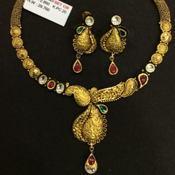 22K Jadtar Necklace