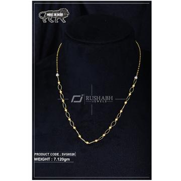 22 Carat 916 Gold Ladies swarovski  Moti mala svg0026