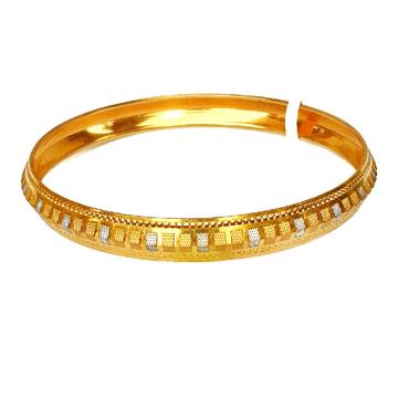 One gram gold plated punjabi kada bracelet mga - bre0007