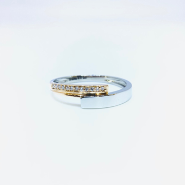 BRANDED FANCY PLATINUM RING FOR LADIES by