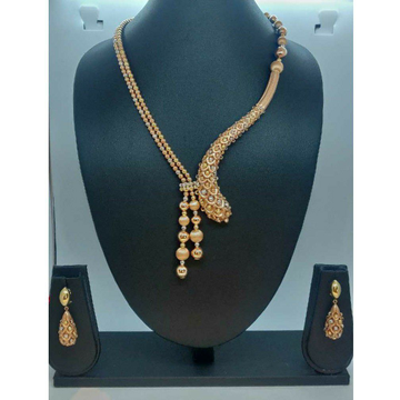 916 Gold Designer Necklace Set