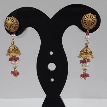 22KT Yellow Gold Eliseo Earrings For Women