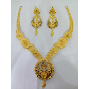 916 gold bridal choker set bj-n10