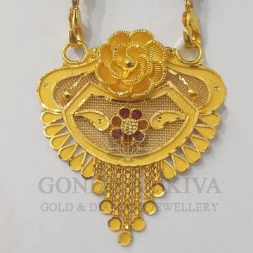 22kt gold mangalsutra gdl-h2