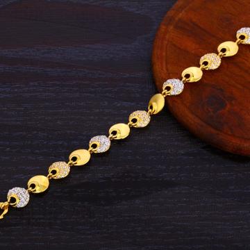 916 Gold Ladies Hallmark Exclusive Bracelet LB371