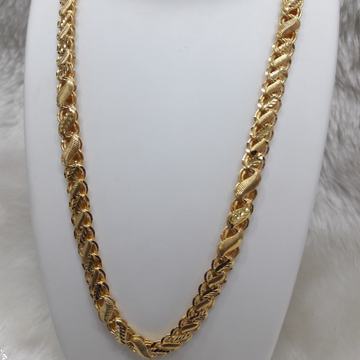 New Fancy one gram gold chain by