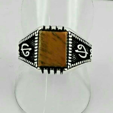 925 Silver Fancy Gents Ring