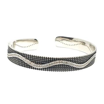 925 Sterling Silver Oxidised Bracelet MGA - KRS0024