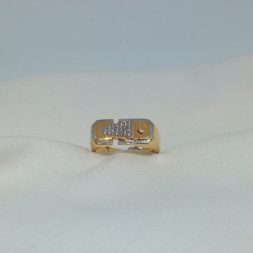 18Kt Gold Gents Ring by Rangila Jewellers