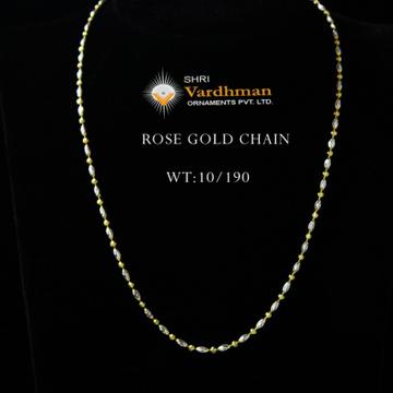 18ct fancy chain