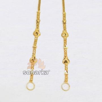 Light weight gold earchain kanser sk - k001 by