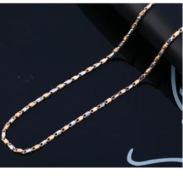 750 Rose Mens Delicate Hallmark Chain RMC94