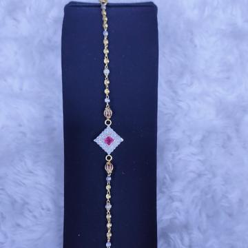 22KT/916 Yellow Gold Olia Bracelet For Women