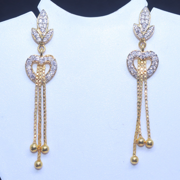 916 / 22KT gold fancy special Occasionware earring for Ladies BTG0301