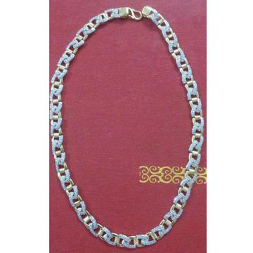 22K / 916 Gold Gents Charming Modern Chain