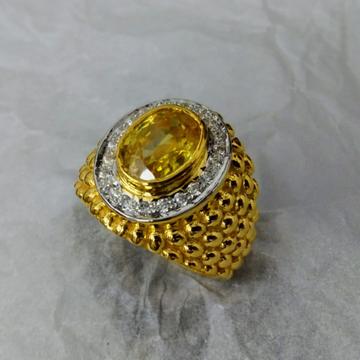 916 Gold Fancy Gent's Rins