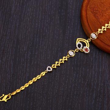 22KT Gold Gorgeous Women's Bracelet LB310