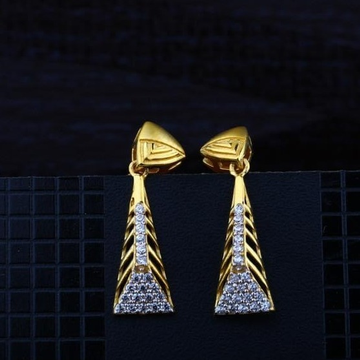 916 Gold CZ Earring RH-ER078