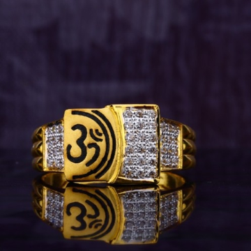 22 carat gold gents diamonds rings RH-GR401