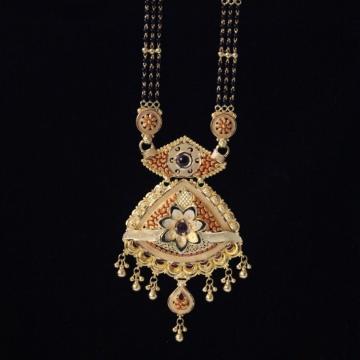 22 k Gold Antique Mangalsutra. NJ-M01111
