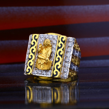 Sai Baba Gold Ring-MHR54