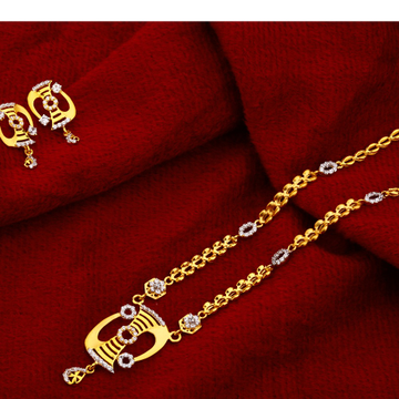 22ct Gold Designer   Chain Necklace CN129