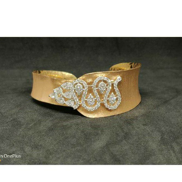 18k Exclusive Ladies Rose Gold Kada