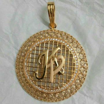 916 Yellow Gold Designer Pendant