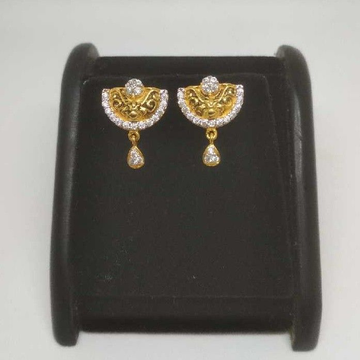 22 K Gold Fancy Earring. NJ-E0920