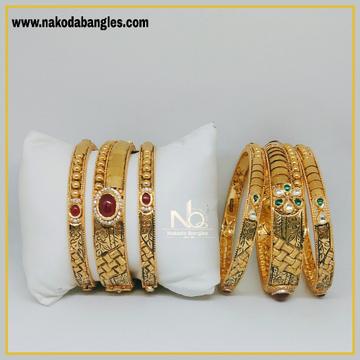 916 Gold Patla Bangles NB-295